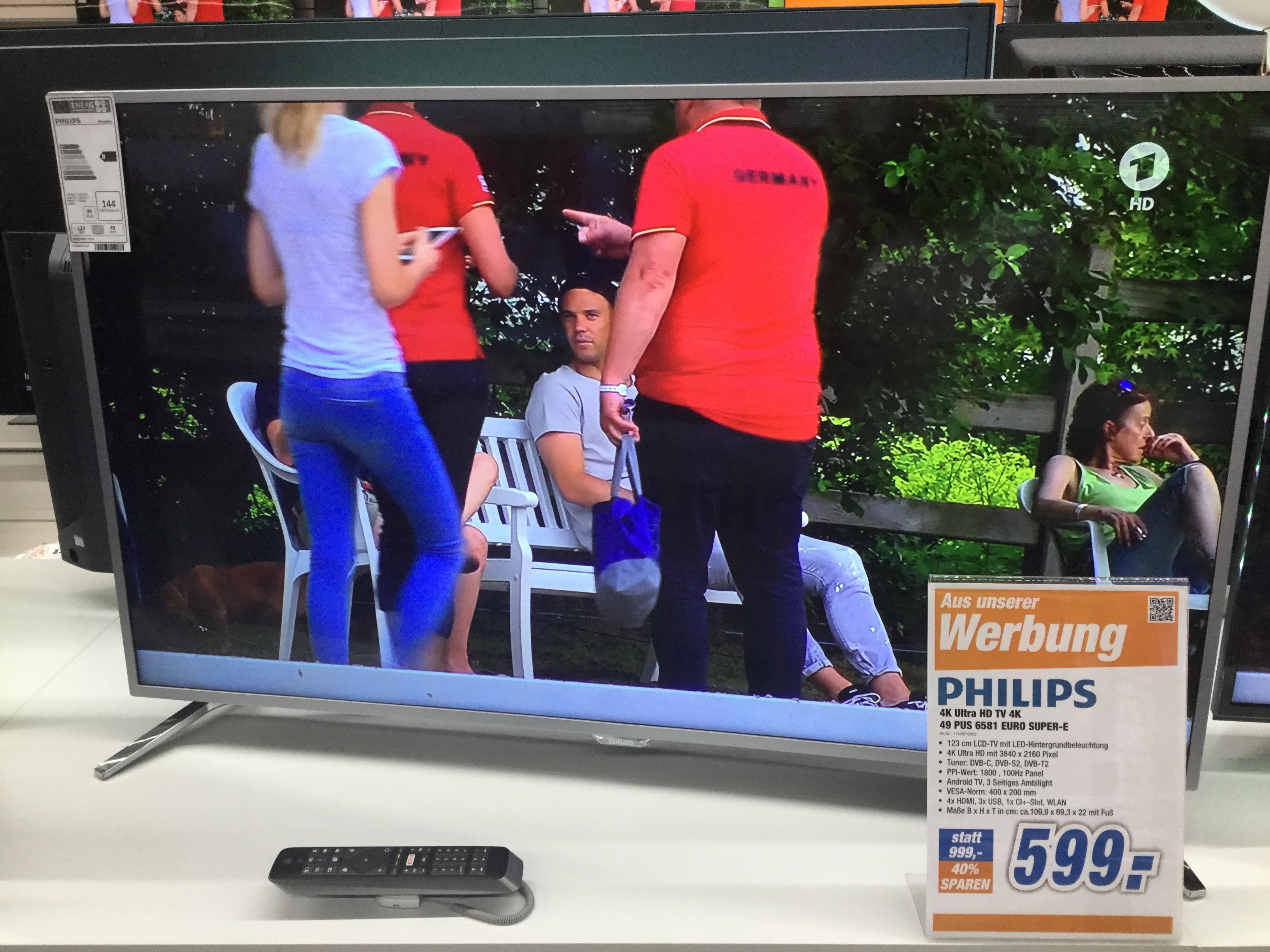 Phillips 49PUS6581 Top Preis!