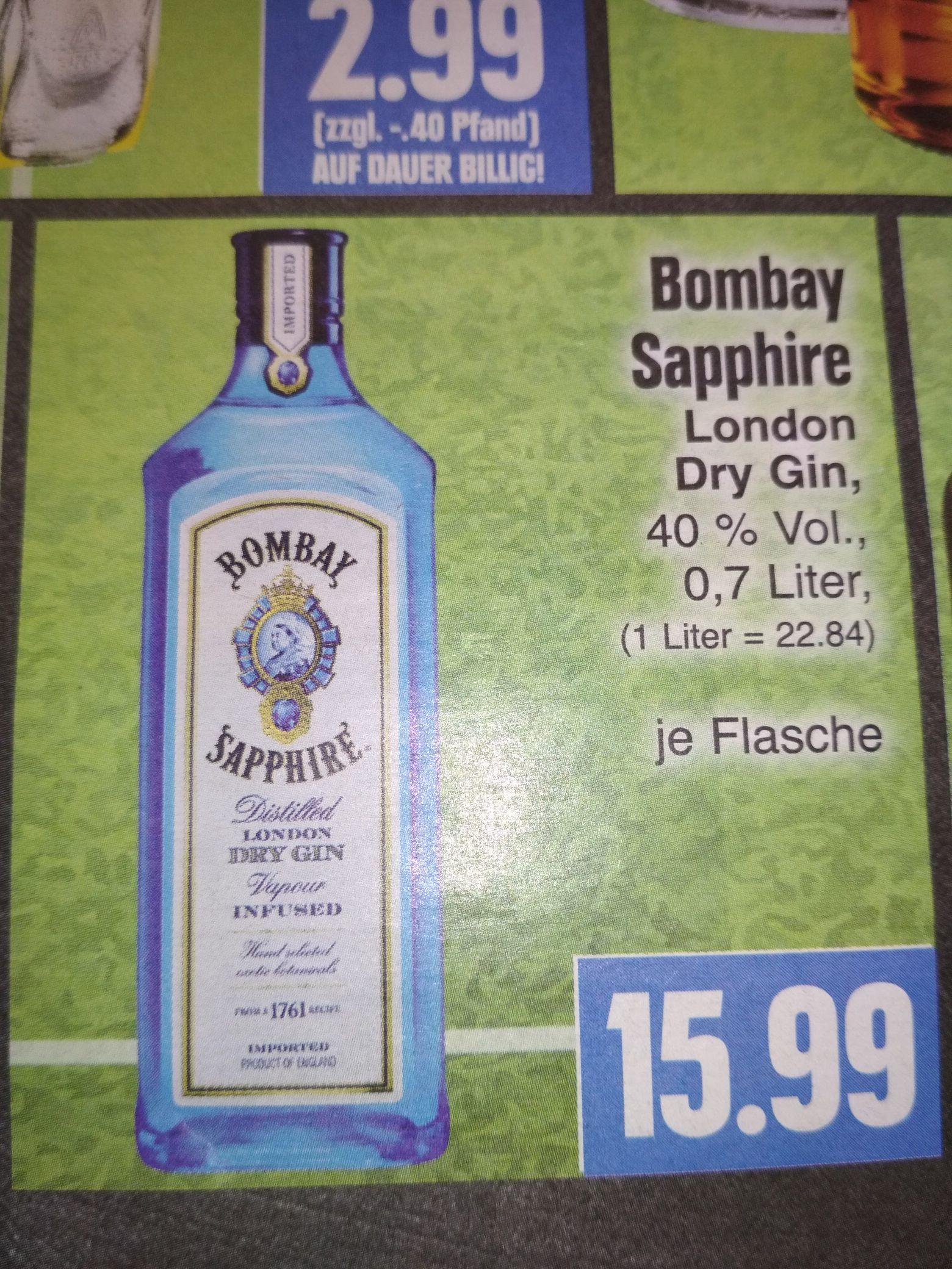 Edeka/Ratio/Marktkauf - Bombay Sapphire London Dry Gin 0,7 l