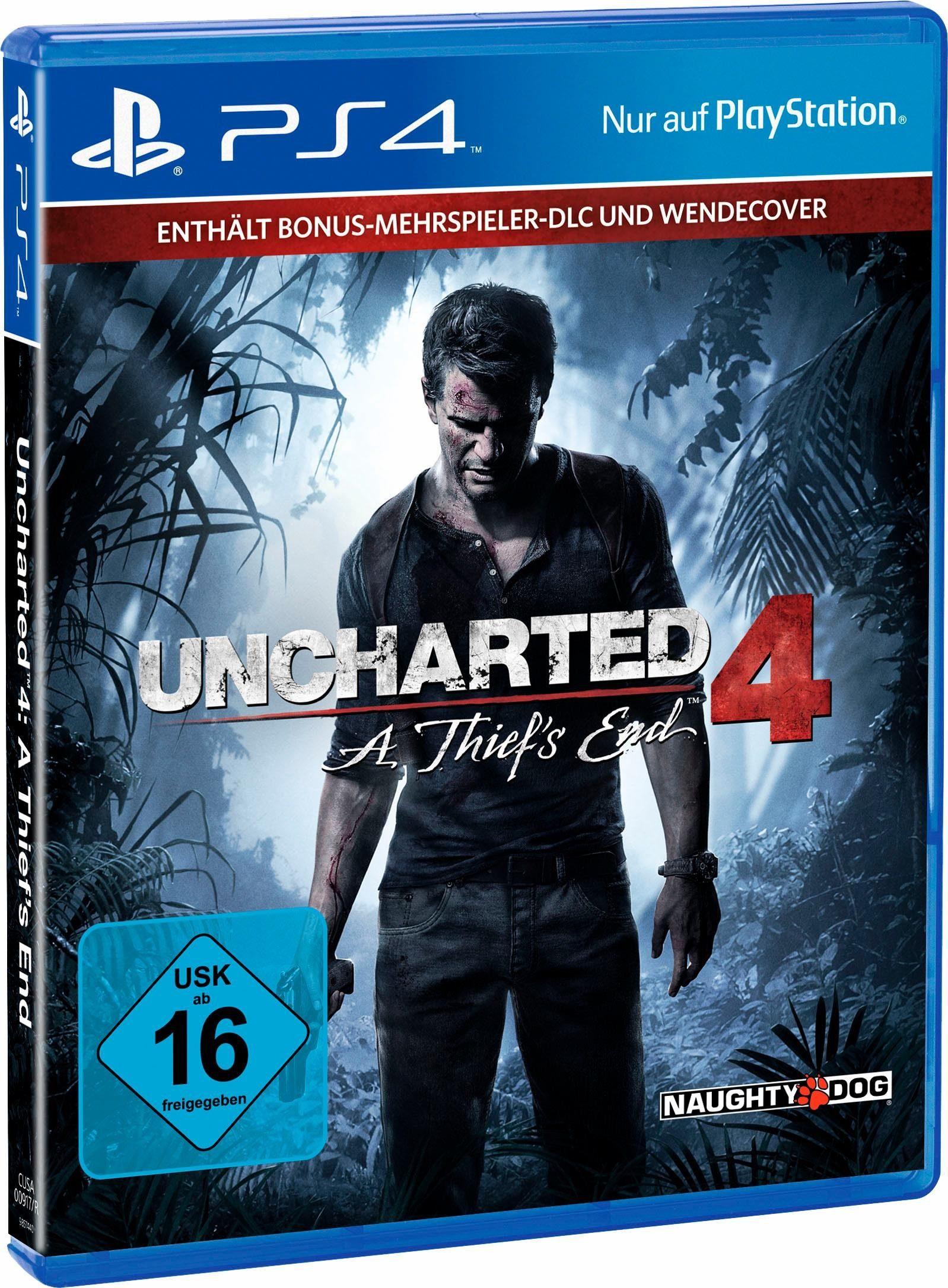 Uncharted 4 Plus Edition (Otto.de) - PS4 Sale u.a. The Last Guardian, Detroit Become Human, God of War