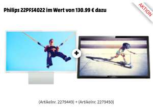 "Philips 24""LED FHD-TV + Gratis Philips 22""LED FHD-TV"