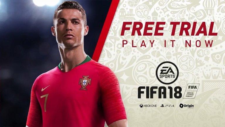 FIFA 18 (PS4 | XBO | PC): Vollversion gratis spielen inkl. FIFA World Cup Russia-Update (09. - 15. Juni 2018)