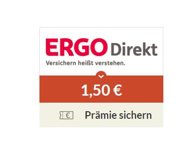 [Spartanien] 1,50€ Premie GS für gratis Gewinnspiel Teilnahme ERGO Direkt