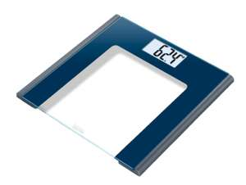 BEURER GS 170 Sapphire Glaswaage, Personenwaage, bis 150kg [Media Markt]