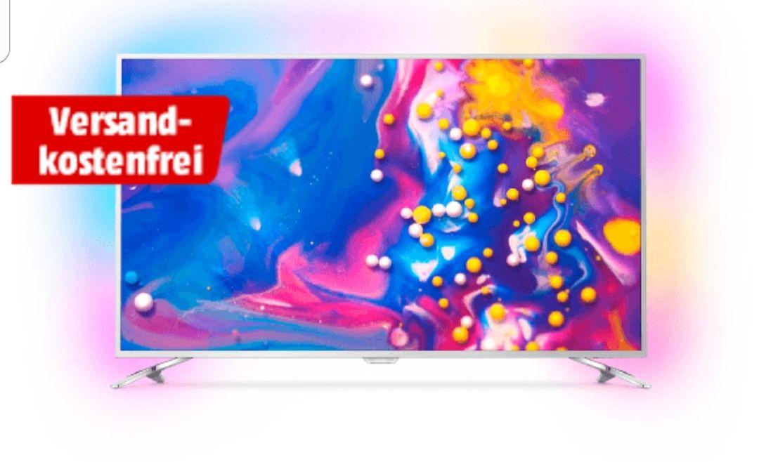 [Media Markt] PHILIPS 49PUS7272 LED TV (Flat, 49 Zoll, UHD 4K, Smart TV, Android TV,Ambilight 3-Seitig, 100 Hz nativ) mit PHILIPS 22PFS4022 LED TV (Flat, 22 Zoll, Full-HD) inklusive Lieferung