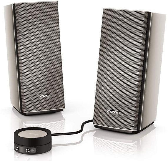 Bose Companion 20 multimedia speaker - Zertifiziert und Generalüberholt Produkt -40%