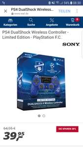 Ps4 Dual Shock Controller Champions League Edition *Real Online* 39,95