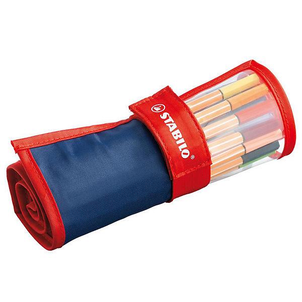 STABILO Fineliner point 88 25er Rollerset 25 verschiedenen Farben für 7,99€ (Müller)