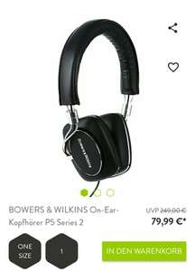 Bowers & Wilkins P5 Series 2 Schwarz bei Brands4friends