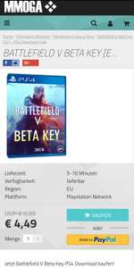 Battlefield V Beta Key PS4 Download