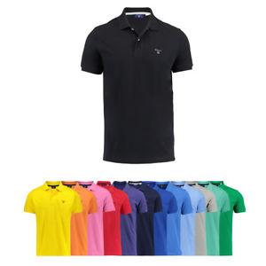 """Gant Herren Poloshirt T-Shirt """"The Summer Pique"""" Kurzarm"""