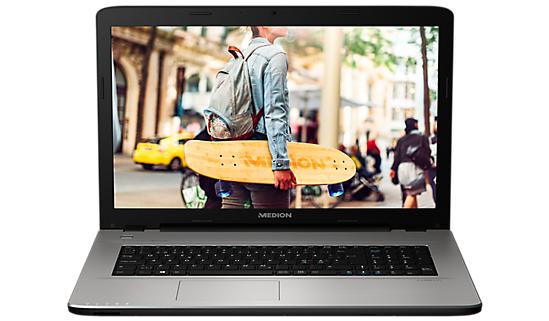 Medion Akoya E7419 (17,3'' FHD matt, Intel 4405U, 4GB RAM, 1.5TB HDD, HDMI, VGA, 1x USB 3.0, 2x USB 2.0)