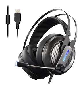 Mpow EG4 Gaming Headset, Virtual 7.1-Kanal-Surround-Sound, USB-Headset mit 50mm Audiotreiber [Amazon]