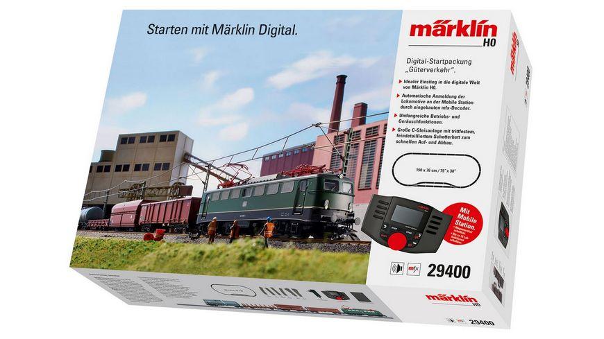 """Märklin 29400 - Digital-Startpackung """"Güterverkehr"""". 230 Volt"""