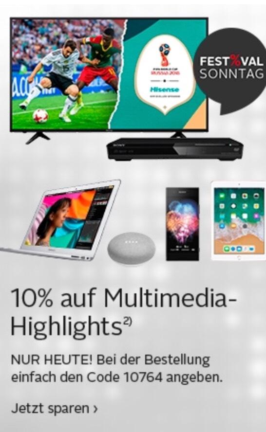 (Otto.de) 10% auf ausgewählte Technik Highlights