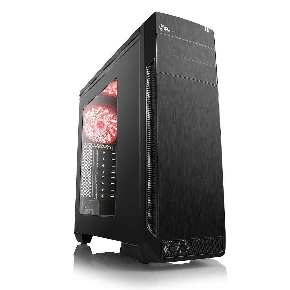 Ryzen 2700X Aufrüst PC (ohne GPU und Datenspeicher), B350 Mainboard, 8GB DDR4 RAM (2666), noName NT (500Watt, 82% Effizienz) inkl. VSK