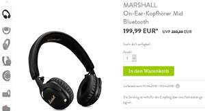 MARSHALL On-Ear-Kopfhörer Mid ANC Bluetooth bei Brands4Friends