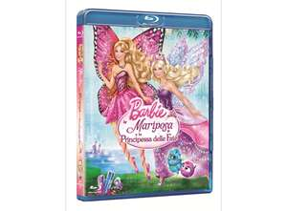 [Dodax] Blu-Ray Barbie - Mariposa und die Feenprinzessin IT-Import mit DE Ton
