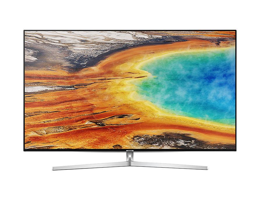 Samsung UE49MU8009TXZG 4K/UHD LED Fernseher 123 cm [49 Zoll] Silber [EEK: A]