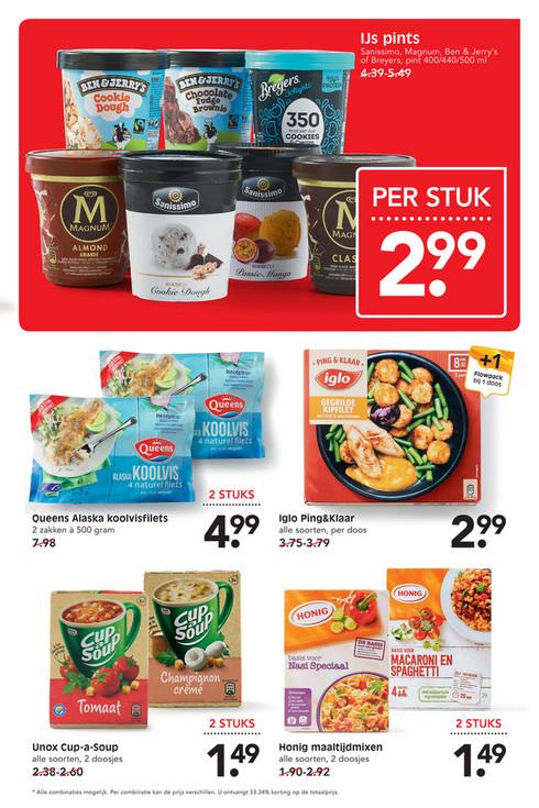 Für Grenzgänger (Emte Supermarkt): Ben&Jerrys, Magnum, Sanissimo Breyers Eis
