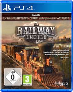 Railway Empire Limited Day One Edition (PS4) für 24,99€ (Amazon Prime)