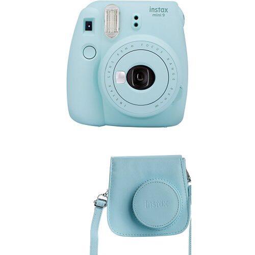 Sofortbildkamera / Fujifilm - Instax Mini 9 mit Tasche (nochmal um -20% gefallen)