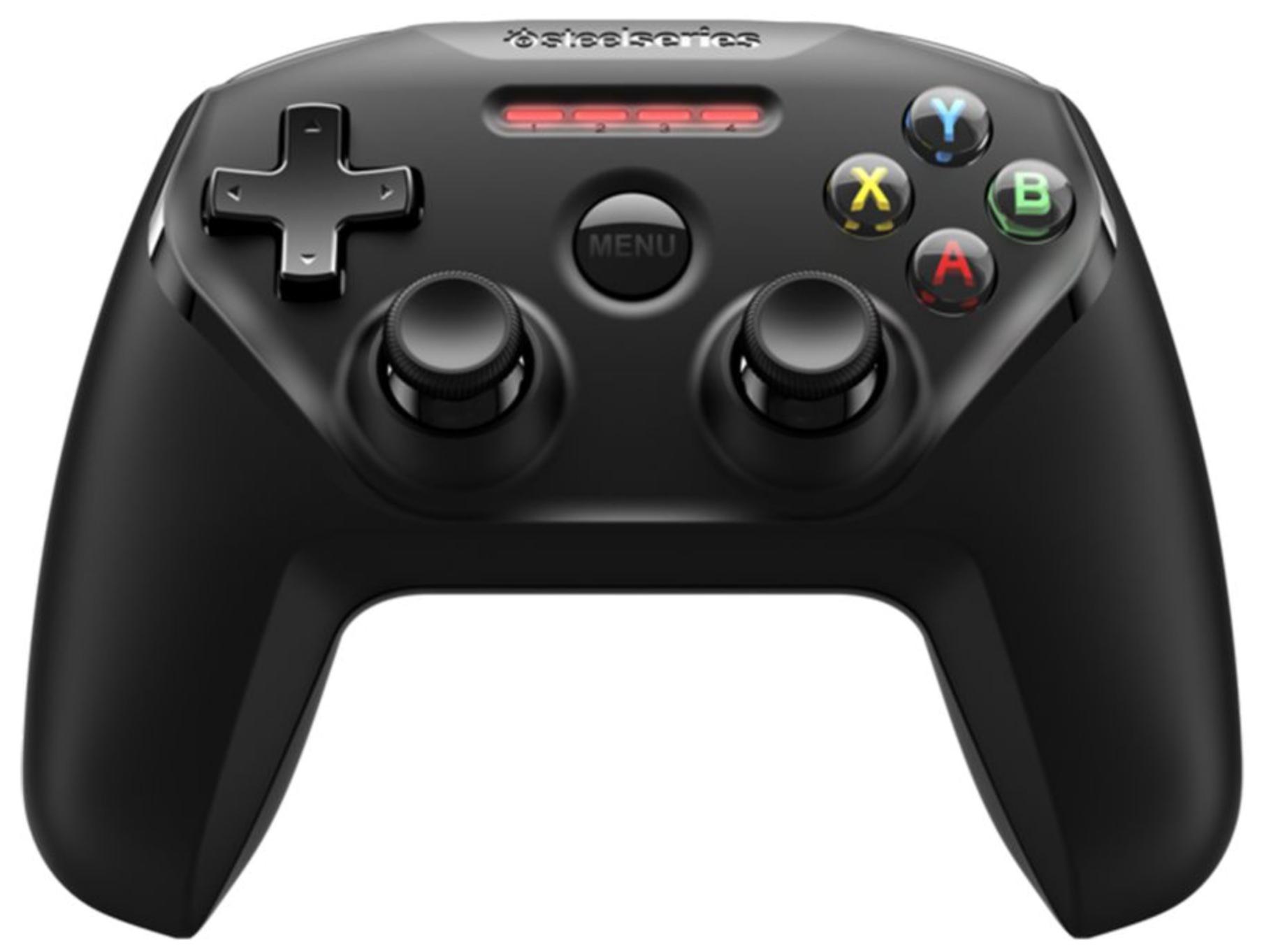 [Gravis] Steel Series Nimbus Game Controller für Apple TV iPhone iPad Mac usw. schwarz für 38,99€ inkl. Versandkosten! (nur heute)