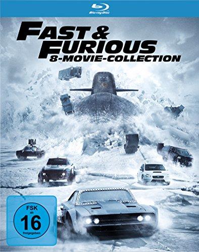 Fast & Furious 8 Movie Collection (Blu-ray) für 29€ versandkostenfrei (Amazon & Media Markt)