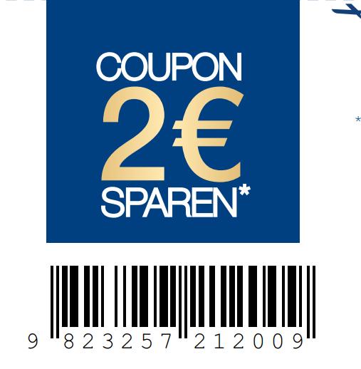 Bundesweit gültiger 2,00€ ab 6,00€ Coupon für den Kauf von min. 2 Dove / Dove Men Produkten [zum Ausdrucken vorgesehen]