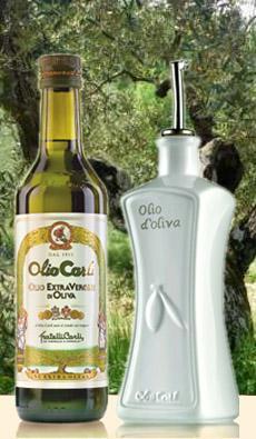 6 Flaschen ital. Olivenöl + Ölkaraffe+ Pfanne 20 cm, nur 19,95 inkl. Versand