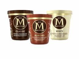 Magnum Pint, Classic, Almond oder White, 440ml für 2,79 Euro [Norma]