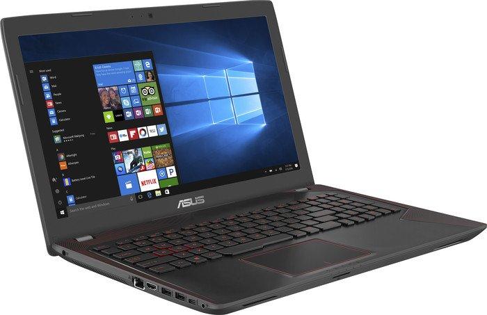 Asus FX553VE-DM406 Notebook (15,6'' FHD matt, Geforce 1050 Ti, i5-7300HQ, 8GB RAM, 1TB HDD, bel. Tastatur) für 479,20€ [NBB]