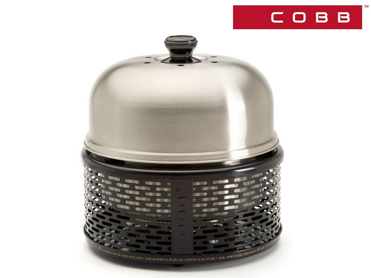 COBB BBQ Pro tragbarer Grill Schwarz