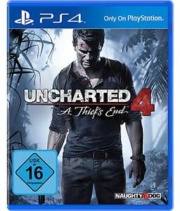 Uncharted 4: A Thief's End + Uncharted: The Lost Legacy (PS4) für 31,93€