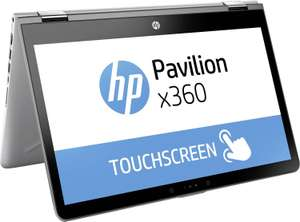 "HP Pavilion x360 14-ba101ng Convertible: 14"" FHD IPS Touch, Intel Core i5-8250U, 8GB RAM, 256GB SSD, USB-C, HDMI , Windows 10 für 636,65€ (NBB)"