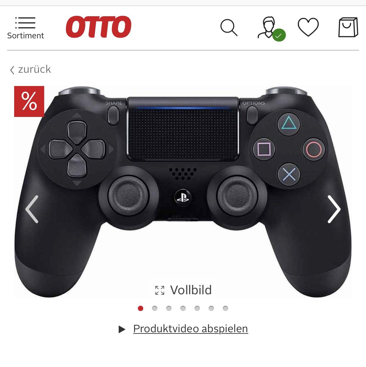 PlayStation 4 Wireless DualShock Controller 24,99€