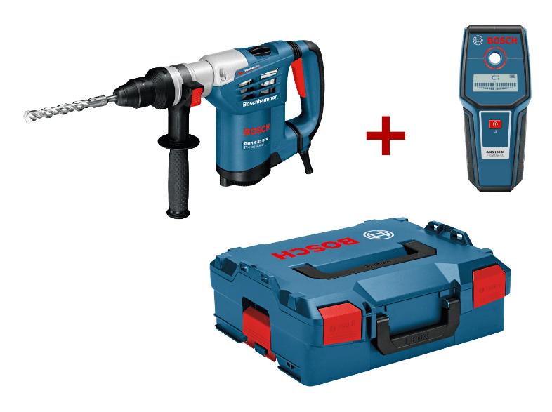 [Media Markt /@eBay] BOSCH 0615990DV8 GBH 4-32 DFR Professional + GMS 100 M Bohrhammer + Metalldetektor