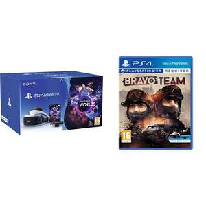 Sony PlayStation VR Starter Pack + Bravo Team für 233,48€ [Amazon.co.uk]