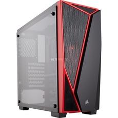 Corsair Carbide Series SPEC-04 TG Gehäuse schwarz/rot, Glasfenster (CC-9011117-WW)