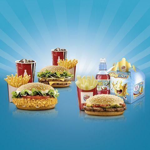 Burger King Landau: Happy Family 50% -  10,76 € statt 21,52 €