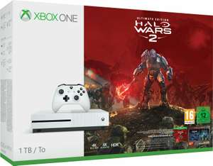 [Schweiz-Microspot] Xbox One S Konsole - 1 TB + Halo Wars 2 Ultimate Edition