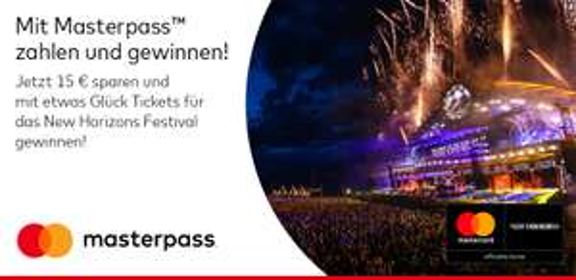 Alternate - Bezahlung mit Masterpass 15€ Rabatt / MBW 50€ - 11.06-30.6.2018
