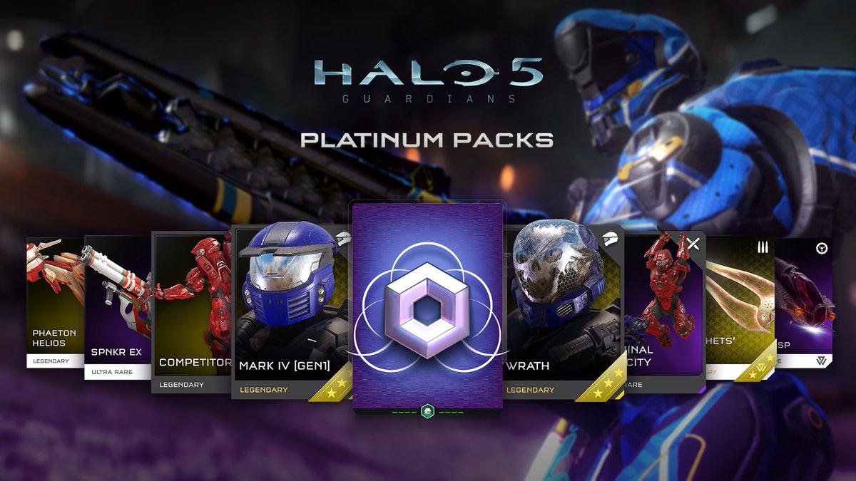 [Xbox] Halo 5 & Halo Wars 2 kostenlose Platinum REQ und Blitz Packs