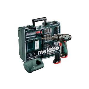 [ebay] Metabo 10,8V Akku-Schlagbohrmaschine PowerMaxx SB Basic Set | 2x Akku 2,0Ah + Zubehör