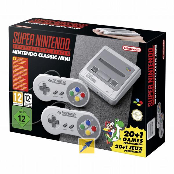 [Technikdirekt] Nintendo Classic Mini Super Nintendo Entertainment System für 58,40€ inkl. Versandkosten bei Zahlung mit MasterPass