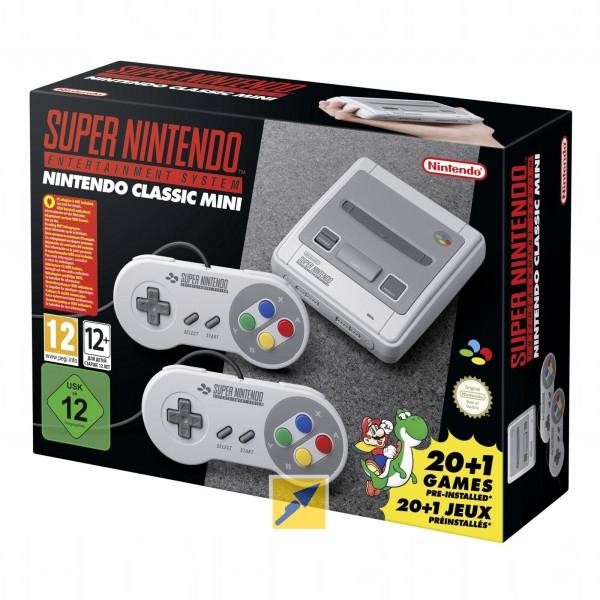 Nintendo Classic Mini Super Nintendo Entertainment System für 55,89€ inkl. Versandkosten bei Zahlung mit MasterPass [Technikdirekt]