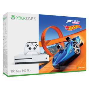 [Microspot CH] XBOX ONE S 4K 500 GB inkl. Forza Horizon 3 und Hot Wheels [109,34€]