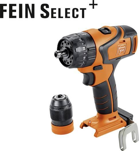 Fein ABS 18 Q Select Akku-Bohrschrauber 18V Li-Ion ohne Akku, inkl. Koffer