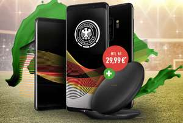 Samsung Galaxy S9+ (64 GB) für 5€ im Vodafone Smart L Plus