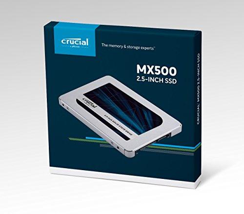 SSD Crucial MX500 500GB, SATA