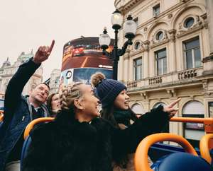 Megabus London Sightseeing Tour - Tickets ab £1.50 - 2h Sightseeing Busfahrt